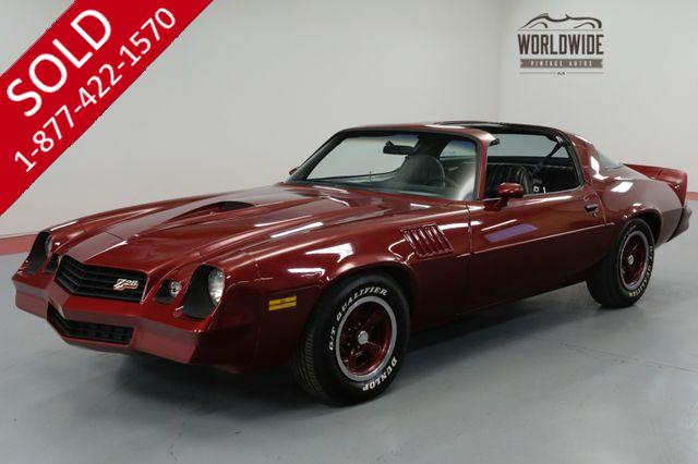 1978 CHEVROLET CAMARO Z28 350 V8! 4-SPEED. A/C! PS PB T-TOPS. MUST SEE