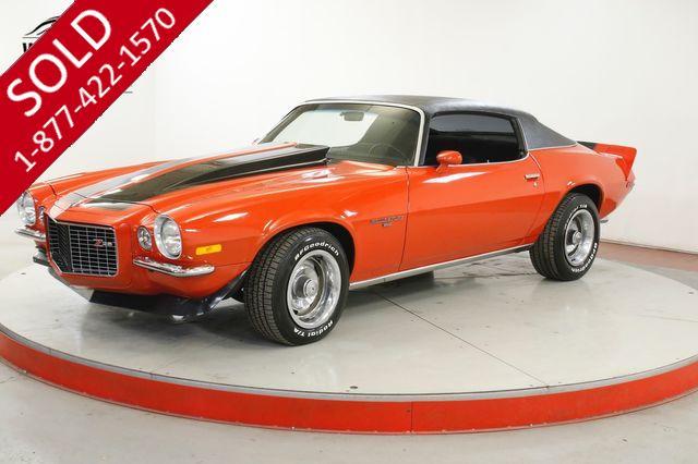 1971 CHEVROLET CAMARO SPLIT BUMPER Z28 TRIBUTE 350 V8 AUTO POSI