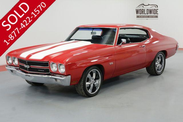 1970 CHEVROLET CHEVELLE 350 5-SPEED CLASSIC CRUISER