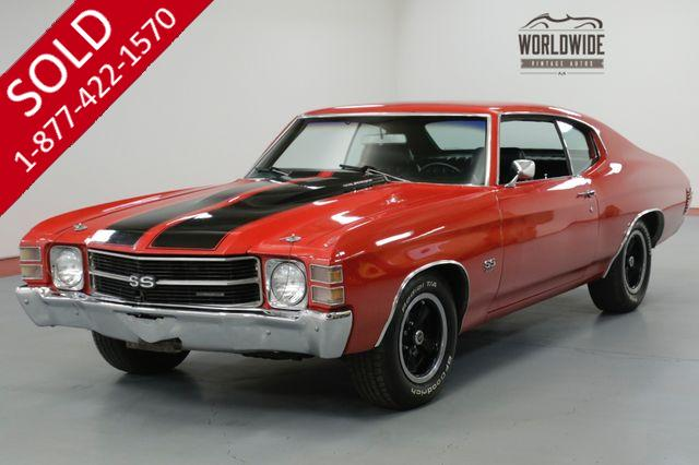 1971 CHEVROLET  CHEVELLE SS. 4 SPEED. DISC BRAKES. PS. MUST SEE
