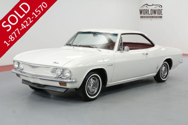 1965 CHEVROLET CORVAIR CORSA  180HP TURBO 4 SPEED RARE