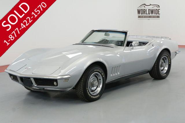 1968 CHEVROLET CORVETTE MATCHING 327CI/350HP 4-SPEED RESTORED SOLD PRE VIP