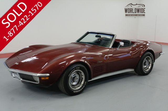 1970 CHEVROLET CORVETTE  NUMBERS MATCHING 350/300HP V8! AUTOMATIC.