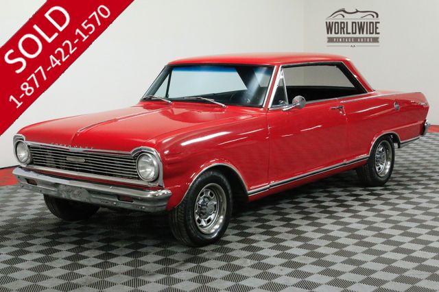 1965 CHEVROLET NOVA SS 283 V8 4-SPEED MUST SEE