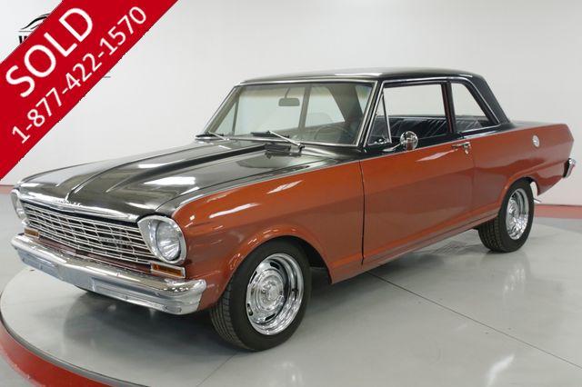 1962 CHEVROLET  NOVA  RESTORED POST CAR DISC PS PB V8 3K MILES