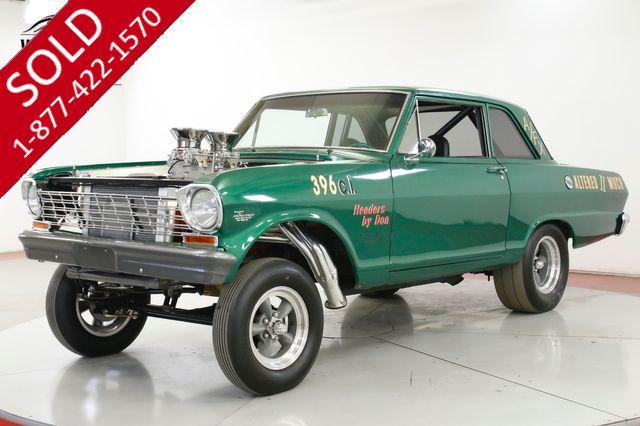 1964 CHEVROLET  NOVA 396 BIG BLOCK RESTORED GASSER RARE MUSCLE CAR