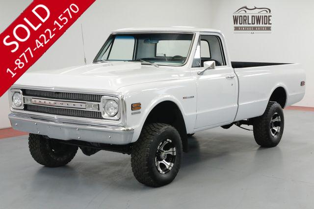 1969 CHEVROLET TRUCK RESTORED 4x4. LS CONVERSION! FUEL INJECTED.