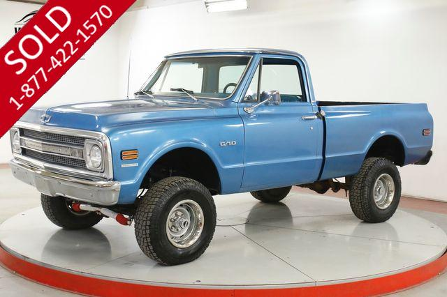 1969 CHEVY K10 FACTORY 4X4 SHORT BED FRAME OFF RESTORED AC