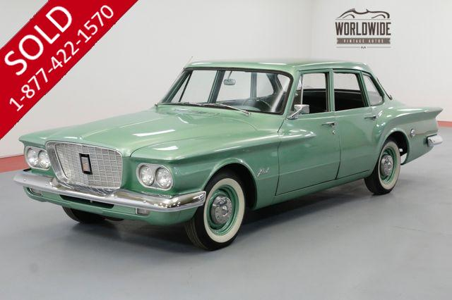 1960 CHRYSLER VALIANT COLLECTOR GRADE. CA CAR! AUTO RARE 1ST YEAR