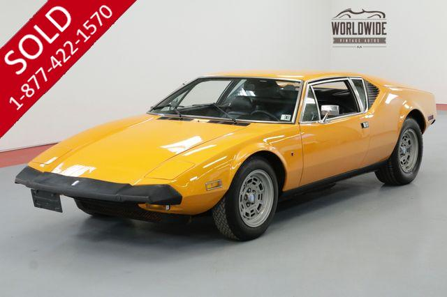 1974 DE TOMASO PANTERA 5.8 LTR 351 CLEVELAND 4 SPEED MANUAL