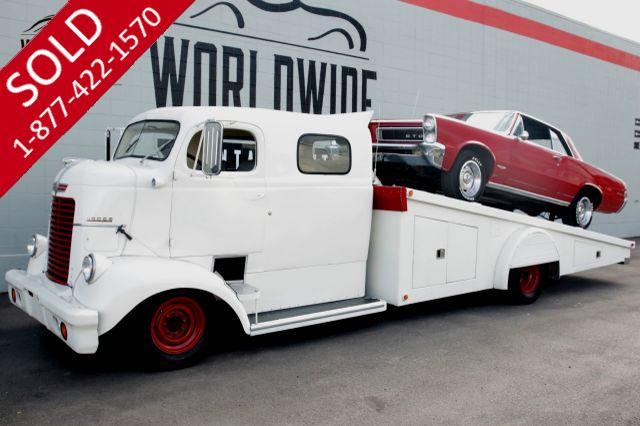 1946 DODGE  COE 5.9L CUMMINS TURBO DIESEL CAR HAULER AUTO AC