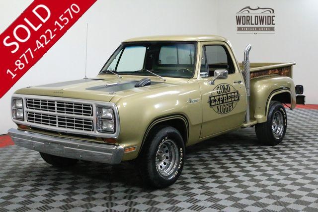 1979 DODGE LIL GOLD NUGGET 360V8 AUTO VERY CLEAN