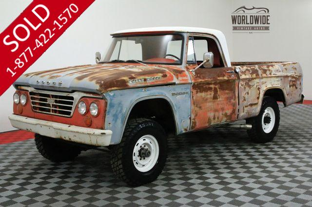 1964 DODGE POWER WAGON W200 4X4 BIG BLOCK V8 COMMANDS ATTENTION