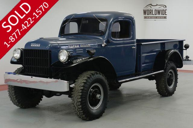 1954 DODGE  POWER WAGON WDX FRAME OFF RESTORED. 3800 MILES COLLECTOR
