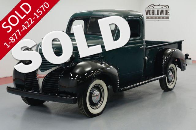 1939 DODGE TRUCK RESTORED. RARE 1/2 TON PICKUP