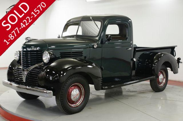 1939 DODGE TRUCK ICONIC FRONT END. TWO TONE PAINT. COLLECTOR