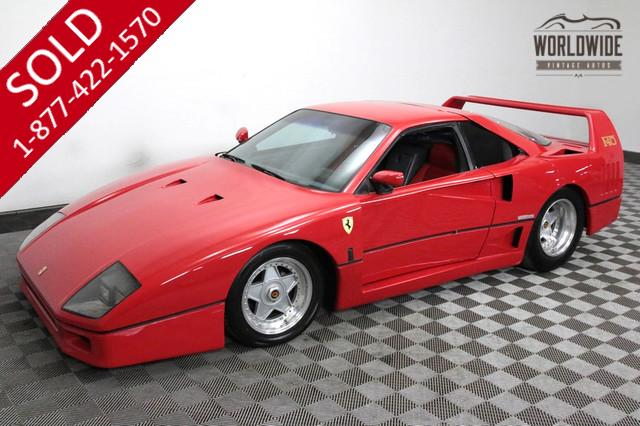 1991 Ferrari F40 Replica for Sale