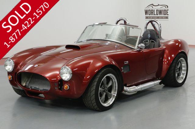 1965 FORD FACTORY FIVE COBRA 5.0L FI V8 5-SPEED TREMEC. HIGH DOLLAR BUILD.