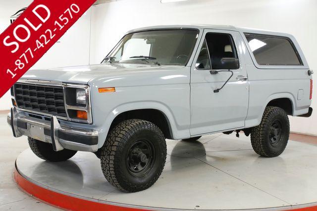 1983 FORD BRONCO 4X4 5.8L V8 AUTO CLEAN AUTOCHECK PS PB 4X4
