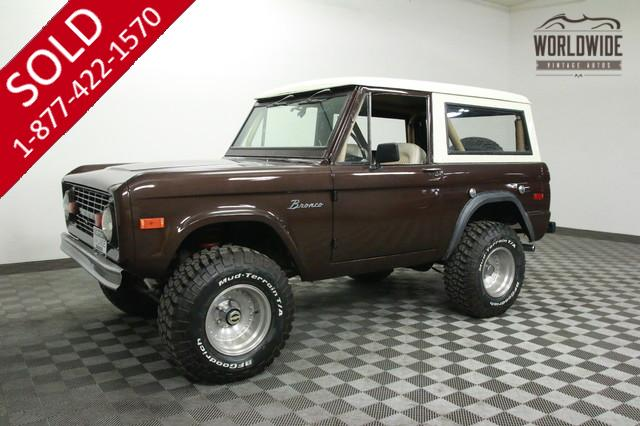 1975 Restored Ford Bronco for Sale