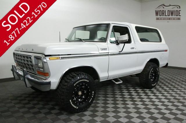 1979 Restored Bronco for Sale