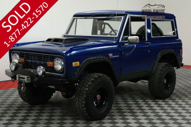1977 FORD BRONCO $10K NEW FUEL INJECTED MOTOR 422HP PS PB
