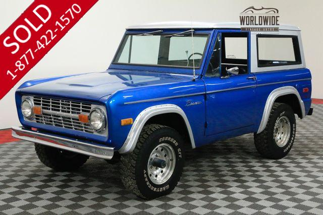 1971 FORD BRONCO RESTORED 302 V8 4X4 CONVERTIBLE