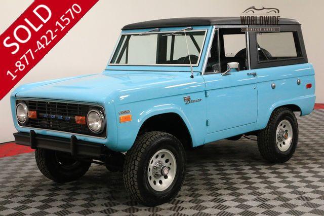 1970 FORD BRONCO CLEAN. UNCUT! 4x4! HARDTOP. 302 V8!