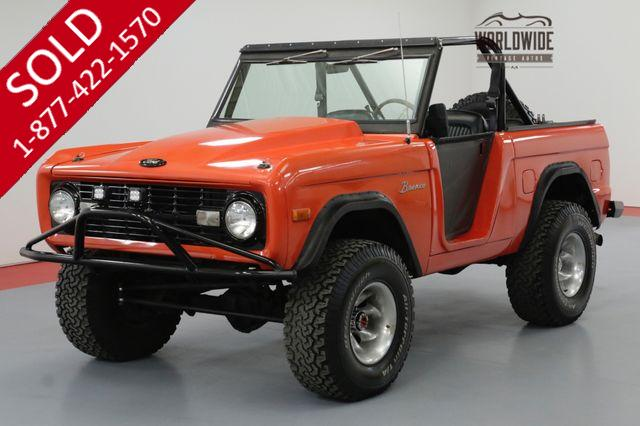1967 FORD BRONCO RESTORED 302V8 PS PB 4X4 CONVERTIBLE
