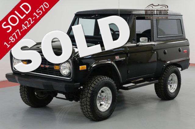 1976 FORD BRONCO FRAME OFF RESTORATION PS PB 4X4 VINTAGE AC SOLD