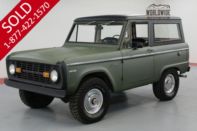 1971 FORD BRONCO RESTORED! UNCUT! FRESH PAINT! 302V8. MUST SEE
