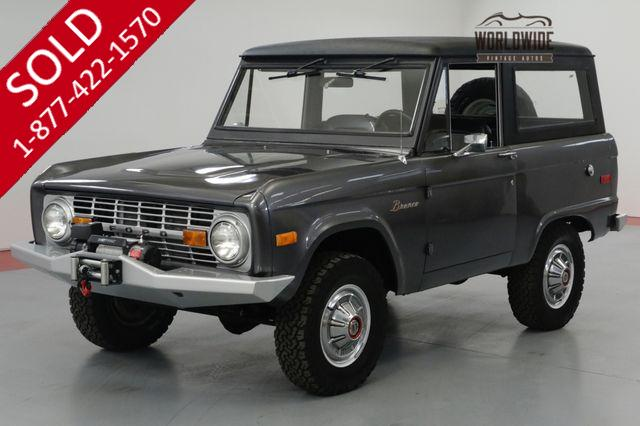 1974 FORD BRONCO FRAME OFF RESTORED 302 CRATE UNCUT AUTO PB PS