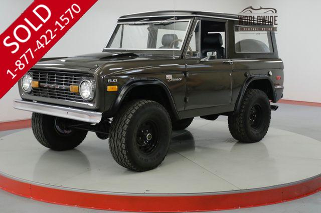 1970 FORD  BRONCO  4X4. V8.  CLEAN