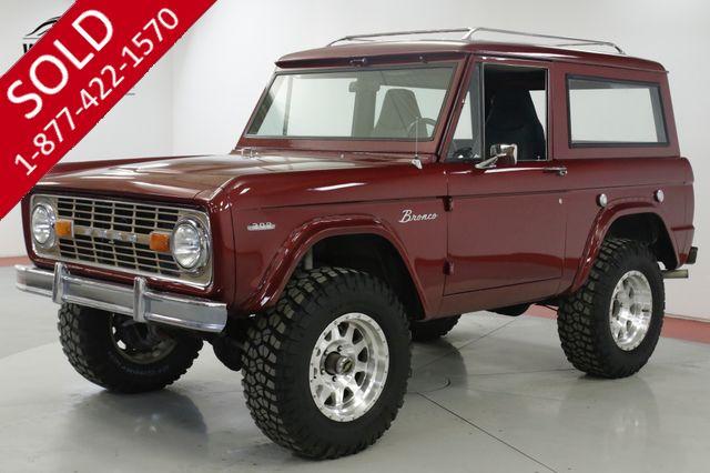 1969 FORD  BRONCO RESTORED 4x4 302 V8 PS. PB. HARDTOP (VIP)