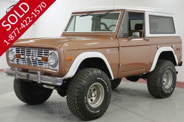 1978 FORD BRONCO 460 V8 AUTO 4X4 LIFTED OFF-ROAD READY