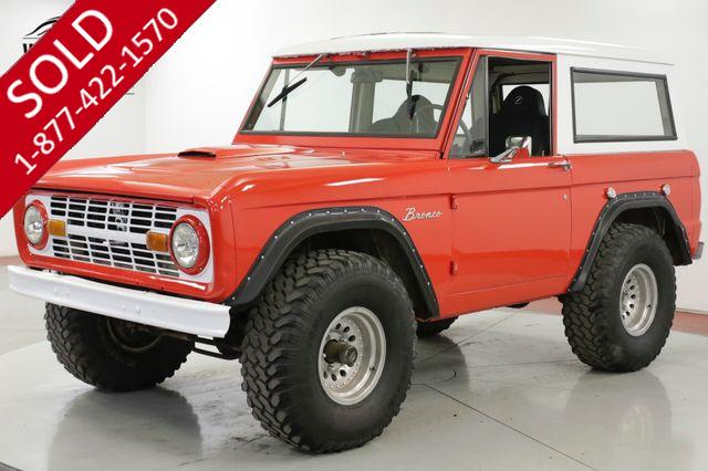 1969 FORD BRONCO  289 V8 3-SPEED 4X4 FRESH PAINT MUST SEE