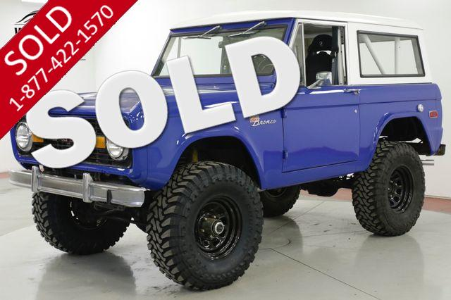 1973 FORD  BRONCO 302 V8 5-SPEED MANUAL LIFTED 4X4 HARD TOP PS