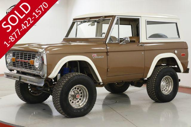1973 FORD BRONCO GT350 WINDSOR V8 4X4 DISC LIFT AUTO PS