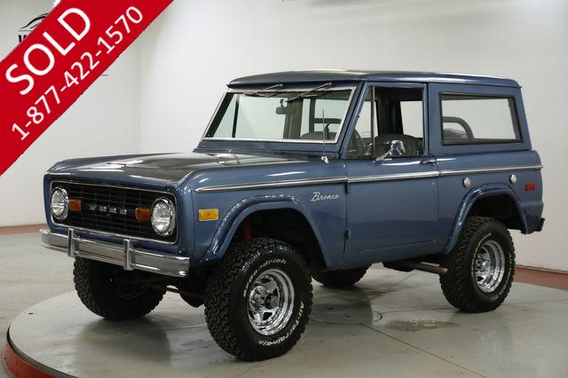1971 FORD BRONCO 302 V8 MANUAL LIFTED 4X4 REMOVABLE TOP