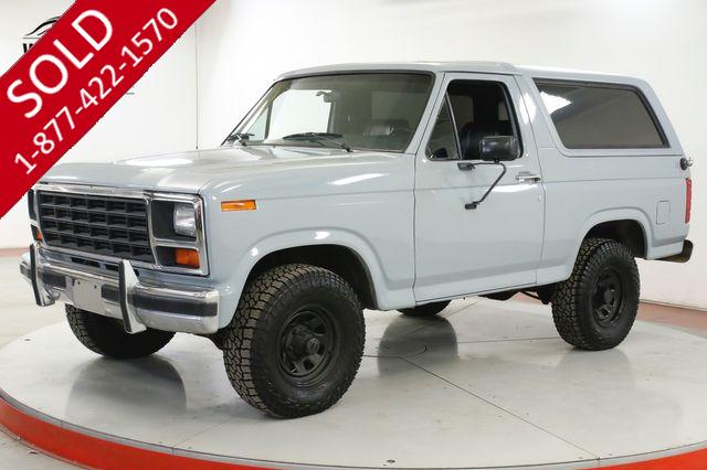 1984 FORD BRONCO  APPEARED IN