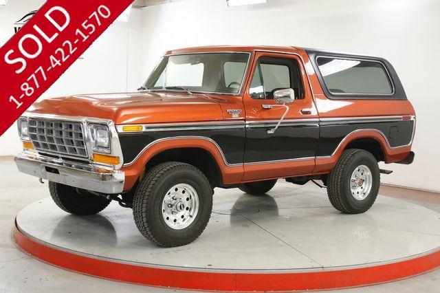 1979 FORD BRONCO 4X4. RARE MODEL. V8. COLLECTOR GRADE. CLEAN
