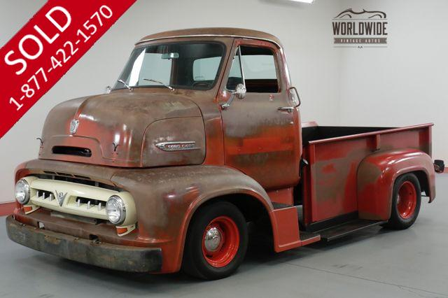 1953 FORD COE F100 CABOVER HOT ROD 400 V8 PS PB 500 MILES
