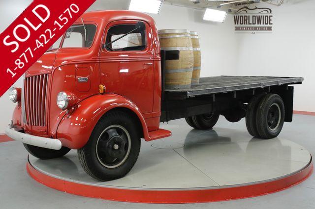 1941 FORD  COE  RARE CABOVER ENGINE RESTORED FLATHEAD V8