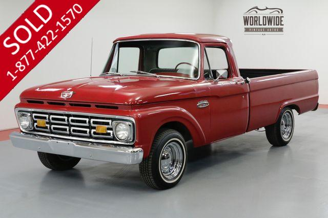 1965 FORD F-100 RESTORED I-BEAM SUSPENSION RARE COLLECTOR