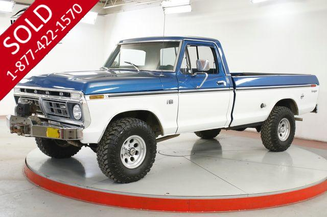 1976 FORD F-150 4X4 RANGER 390 AUTO PS PB WINCH FACTORY A/C
