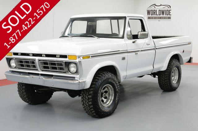 1976 FORD F-150 4X4 REBUILT 460 MOTOR 4 SPEED PS PB