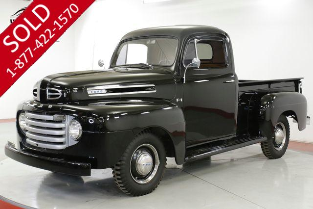 1949 FORD  F1 3 SPEED, AIR CONDITIONING, RESTORED