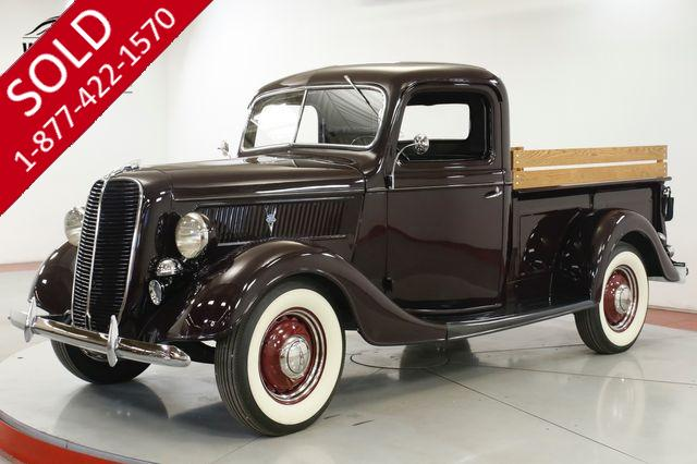 1937 FORD F1 HENRY FORD STEEL V8 RESTORED MUSEUM QUALITY