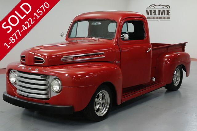 1948 FORD F100 SHORT BED. HOT ROD. V8! 4100 MILES! AUTO