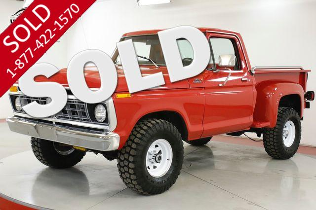 1977 FORD F100 400 V8 COLD AC PS PB 4X4 COLLECTOR